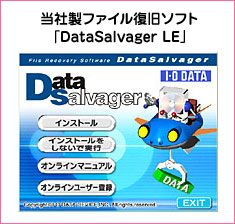 ���А��t�@�C�������\�t�g �uDataSalvager LE�v