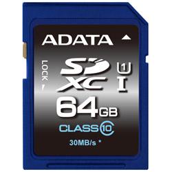 ADATA ASDX64GUICL10-R ADATA SDXC UHS-I CLASS10 【 64GB 】