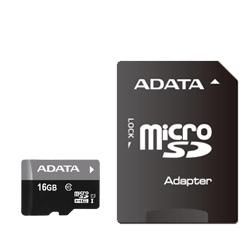 ADATA AUSDH16GUICL10-RA1 ADATA microSDHC UHS-I CLASS10 with Adapter 【 16GB 】