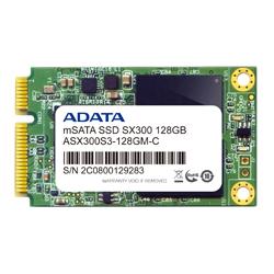 ADATA ASX300S3-128GM-C ADATA SX300 mSATA SSD 6G/b 【 128 GB 】