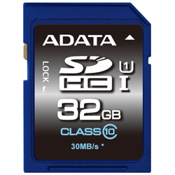 ADATA ASDH32GUICL10-R ADATA SDHC UHS-I CLASS10 【 32GB 】