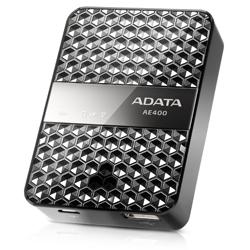 ADATA AAE400-CBKSV ADATA WiFiカードリーダー&モバイルバッテリー【Dash Drive Air】
