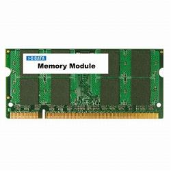 アイ・オー・データ機器 PC2-5300 DDR2メモリー 200ピン S.O.DIMM 1GBx2 SDX667-1GX2A