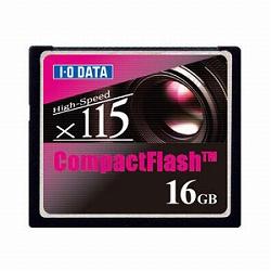 アイ・オー・データ機器 115倍速CFカード16GBモデル CF115-16G