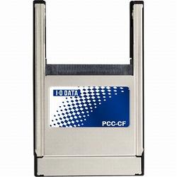 アイ・オー・データ機器 PCカードType IIスロット用コンパクトフラッシュアダプター PCC-CF