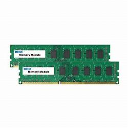 アイ・オー・データ機器 PC3-10600 対応 DDR3 増設メモリーモジュール 2枚組 DY1333-4GX2