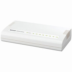 アイ・オー・データ機器 100BASE-TX/10BASE-T対応 8ポートスイッチングハブ ETX-ESH8W