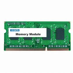 アイ・オー・データ機器 PC3-10600 DDR3 S.O.DIMM 2GB (低消費電力) SDY1333-H2G