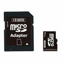 アイ・オー・データ機器 microSDカード 2GB SDMC-V2G/A