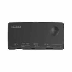 アイ・オー・データ機器 UHS-I高速転送対応 USB接続リーダー・ライター黒 USB2-W63RW/B