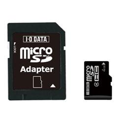 アイ・オー・データ機器 Class 4対応 microSDHCカード 4GB SDMCH-W4G/A