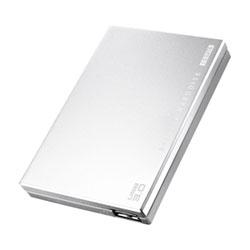 アイ・オー・データ機器 USB3.0対応 ポータブルHDD 銀 500GB HDPC-UT500SC