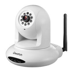 アイ・オー・データ機器 首振り/暗視機能搭載ネットワークカメラ「Qwatch」 TS-WPTCAM