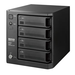 アイ・オー・データ機器 RAID機能搭載NASバックアップハードディスク8TB RHD4-UX8.0RW