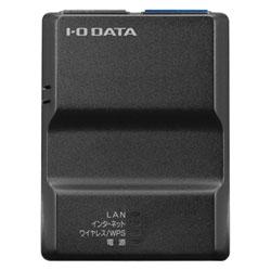アイ・オー・データ機器 2.4GHz対応 無線LANポケットルーター ブラック WN-G300TRK