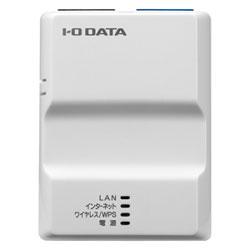 アイ・オー・データ機器 2.4GHz対応 無線LANポケットルーター ホワイト WN-G300TRW