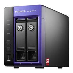 アイ・オー・データ機器 WD Red搭載 W2008 R2 Wg 2ドライブNAS 2TB HDL-Z2WS2C