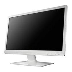 アイ・オー・データ機器 ブルーライト低減機能付き 23.6型ワイド液晶 白 LCD-MF243EWR