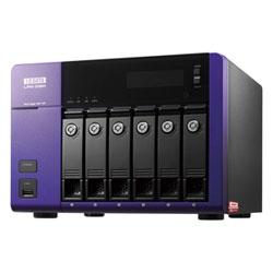 アイ・オー・データ機器 WD Red搭載 W2012 R2 Std 6ドライブNAS24TB HDL-Z6WL24C2