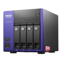 アイ・オー・データ機器 WD Red搭載 W2008 R2 Wkg 4ドライブNAS16TB HDL-Z4WS16C