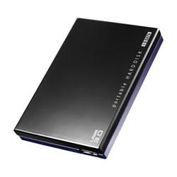 アイ・オー・データ機器 USB3.0対応 ポータブルHDD 黒 500GB HDPC-UT500KC