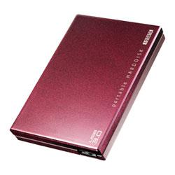 アイ・オー・データ機器 USB3.0対応 ポータルブルHDD 赤紫 2TB HDPC-UT2.0BRC