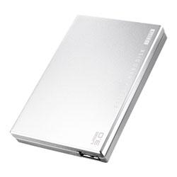 アイ・オー・データ機器 USB3.0対応 ポータルブルHDD 銀 2TB HDPC-UT2.0SC