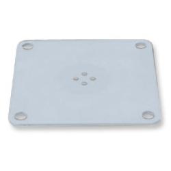 アルファーテック N901サポートA 取付ブラケット901・902用 補強板(径7mm穴タイプ)