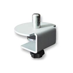 アルファーテック PS4-N900B-S 液晶ディスプレイアーム(PS4/5シリーズ用・シルバー) ノブ式ショートクランプ