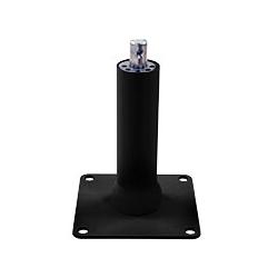 アルファーテック PS9-N901L-B PS9シリーズ用 ロング支柱卓上取付ブラケット(取付穴径7mm・ブラック)