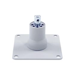 アルファーテック PS9-N901-LG PS9シリーズ用 卓上取付ブラケット(取付穴径7mm・ライトグレー)