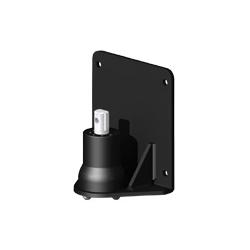 アルファーテック PS9-N902W-B PS9シリーズ用 簡易型パネル取付アダプタ(取付穴径7mm・ブラック)