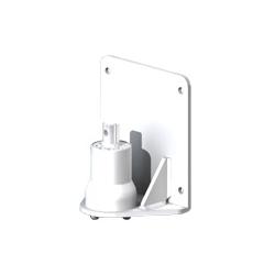 アルファーテック PS9-N902W-LG PS9シリーズ用 簡易型パネル取付アダプタ(取付穴径7mm・ライトグレー)