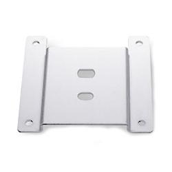 アルファーテック VESA75-LG PS3・4・7共用 VESA規格75mmディスプレイ取付アダプタ(ライトグレー塗装)