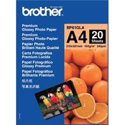 ブラザー工業 BP61GLA 専用A4写真光沢紙20枚