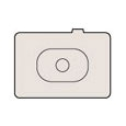 ioPLAZA【アイ・オー・データ直販サイト】キヤノン 0848B001 フォーカシングスクリーンEc-S