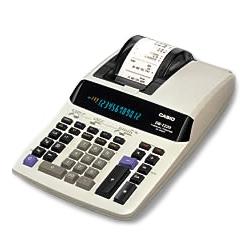 カシオ計算機 DR-T220WE プリンター電卓
