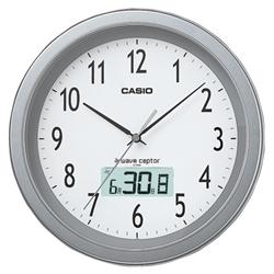 カシオ計算機 IC-1010J-8JF カシオ 電波掛け時計 IC-1010J-8JF フルオートカレンダー付き