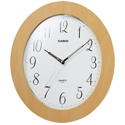 カシオ計算機 IQ-124-7JF カシオ 掛時計 IQ-124-7JF スムーズ秒針