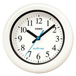 ioPLAZA【アイ・オー・データ直販サイト】カシオ計算機 IQ-180W-7JF カシオ 掛時計 IQ-180W-7JF 防水・防塵機能付き