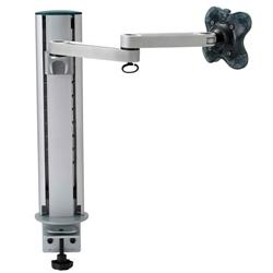 (有)ドーフィールドジャパン EGL-202 液晶モニタ用水平アーム シルバー クランプ取付 VESA75/100対応 耐荷重12kg