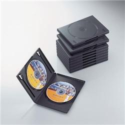 ioPLAZA【アイ・オー・データ直販サイト】エレコム CCD-DVD06BK DVDトールケース