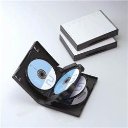 ioPLAZA【アイ・オー・データ直販サイト】エレコム CCD-DVD10BK DVDトールケース(7枚収納) ブラック