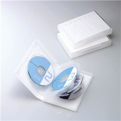 ioPLAZA【アイ・オー・データ直販サイト】エレコム CCD-DVD10CR DVDトールケース(7枚収納) クリア