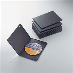 ioPLAZA【アイ・オー・データ直販サイト】エレコム CCD-DVDS03BK スリムDVDトールケース