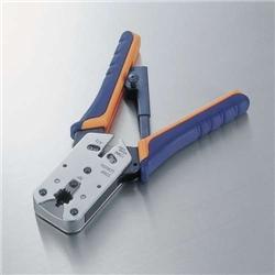 エレコム LD-KKTP2 ラチェットタイプRJ45コネクタかしめ工具