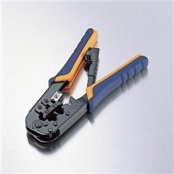 エレコム LD-KKTR ラチットタイプRJ45コネクタかしめ工具