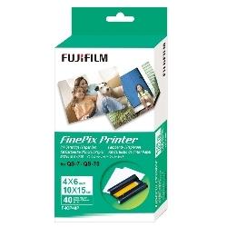 富士フイルム IP F-ICP40P インクカートリッジ/ペーパーセット ポストカードサイズ40枚入り