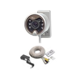 コロナ電業 TR-204C 赤外線投光器内蔵カラーCCDカメラ