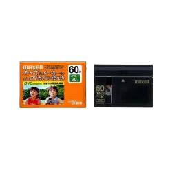 日立マクセル DVM60SEP 録画用DVカセット 標準録画60分 鮮明なデジタル映像 優れた耐久性と信頼性を発揮
